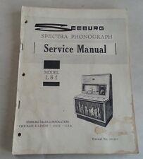 SEEBURG JUKEBOX PHONOGRAPH LS1 SERVICE MANUAL  / ORIGINAL / 493227