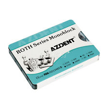 Orthodontic Dental Monoblock Bracket MIM MINI Roth.022 3-4-5 Hooks 1000pcs/kit