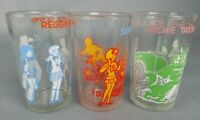 3pc Vintage Glasses Richie Sabrina Archie Jughead Comic