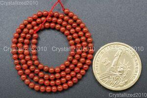 "Natural Red Jasper Gemstone Round Loose Beads 2mm 3mm 4mm 6mm 8mm 10mm 12mm 16"""