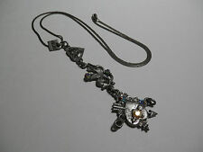 "Otazu Hearts Cupid  Pendant Necklace   23"""