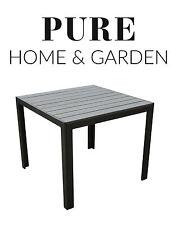Gartentisch alu 90x90  Quadratische Gartentische | eBay