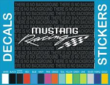 "9"" Ford Mustang Racing Pony Horse Truck Car window decal sticker"