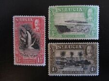 St Lucia #95-97 Mint Hinged (K7F9) WDWPhilatelic