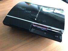 Sony PlayStation 3 60GB Piano Black Abwärtskompatibel PS1 PS2