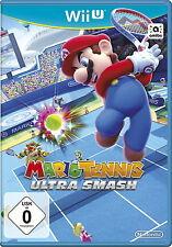 Mario TENNIS: ULTRA Smash (Nintendo Wii U, 2015, Dvd-Box) - PRODOTTO NUOVO -