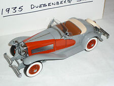 A Danbury mint scale model car of a 1935 Duesenberg SSJ, boxed
