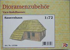 Granja, Accesorios Diorama, 1:72 , Set de Modelismo- Vacu ,R2, Nuevo