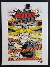 Pearl Jam Concert Poster by D*Face 7/16/2013 London Ontario Canada Edmonton Eng