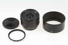 Leica Summicron-T 23mm f/2 Aspherical Lens 11081 with UV filter & Hood EXC!