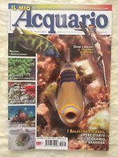 IL MIO ACQUARIO n.163 anno 2012 rivista di pesci rettili piante invertebrati...