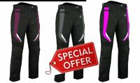 Rksports Ladies 737 Motorcycle Motorbike Waterproof Textile Trouser CE
