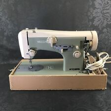 Necchi Model 513 Italy Vintage Sewing Machine Italian Metal