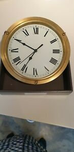 Solid Brass Ships Clock