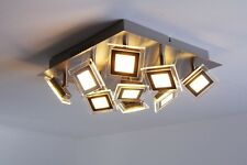 Led ceiling spot light 9 x 5 Watt design flush lamp modern lighting New 104428