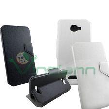 2x case FLIP FLAP cover STAND case Black e White for NGM Forward Escape