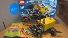 Lego set 5972 Space Police Space Truck Getaway 2 Minifigures Lot Near Complete