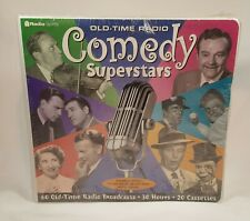 OLD TIME RADIO COMEDY SUPERSTARS - 20 AUDIO CASSETTES - 30 HRS - 60 BROADCASTS