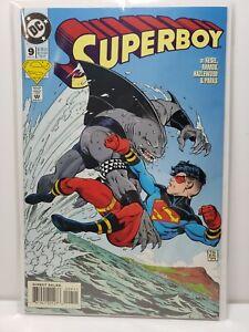 Superboy #9 DC Comics Key issue 1st appearance King Shark