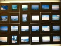 Vintage Lot of 24 Color Photograph Slides 1960's California mostly Kodachrome