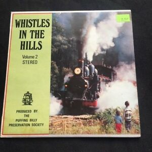 """Whistles In The Hill Train Railroad Vol.2  7"""" Sleeve Only 45rpm  No vinyl single"""