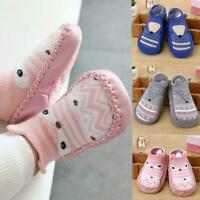 Baby Kids Toddler Anti Slip Shoes Cartoon Slipper Floor Boots Socks Z9R1