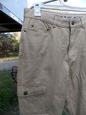 MT. HORSE HIKING PANTS WITH ZIP OFF CONVERTIBLE LEGS SIZE MEDIUM TAN