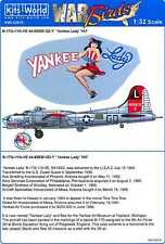 Kits World Decals 1/32 Boeing B-17G Flying Fortress Yankee Lady