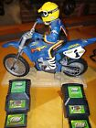 RC motorcycle.   X-Treme Cycle Jeremy McGrath Dirt Bike W/ Battery Pack Charger