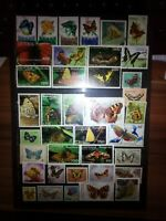Schmetterlinge Maripozas Butterfly Briefmarken Stamps Sellos Timbres