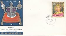 (86066) Barbuda Philart FDC Kings & Queens Henry II - 15 April 1970