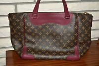 LOUIS VUITTON Monogram Estrella MM  2 Way Tote Shoulder Bag -  Rasin - EUC