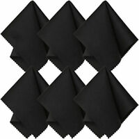 10Pcs Microfiber Cleaning Cloth For Camera Lens Glasses TV Phone LCD Screen