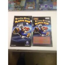 DANCING STAGE MARIO MIX GAME CUBE NINTENDO  notice / mode emploi / jeux video /