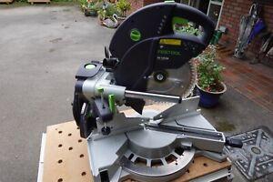 Festool 575304 240V Sliding Compound Mitre Saw with AB-KS Crown Stop