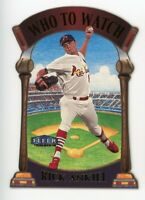 2000 Fleer Tradition RICK ANKIEL WHO TO WATCH DIE-CUT CARD #1 St Louis Cardinals