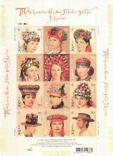 Traditional Headdress Ukraine Costume Stamp Wedding Hats Cap Ukrainian Folk 2007