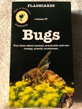 Bugs Flash Cards by Flash of Brilliance (26 card set) Insects Creepy Crawly