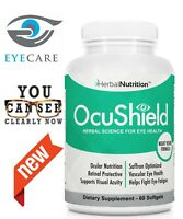 Herbal Nutrition OcuShield for Eye Health_Night Vision Formula Exp 07/28/2022