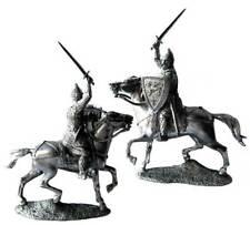 Prince Alexander Yaroslavich XIII cc Tin toy soldier 54 mm. metal