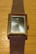 Vintage Kathy Ireland ladies watch, running with new battery NR G