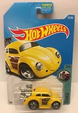Hot Wheels Volkswagen Beetle Tooned HW Yellow VW Die Cast Car Baja