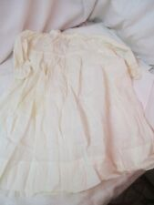 Antique Child's Nightgown inset Lace