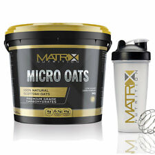 SCOTTISH MAIZE MICRO OATS CARBOHYDRATE WEIGHT GAINER - 5KG FROM MATRIX NUTRITION