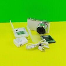 Samsung NX Mini Mirrorless Digital Camera - White w/  9-27mm Lens  Used #hg7d6