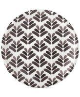 Martha Stewart Collection Heirloom Black/White  Salad Plate