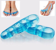 Yoga Toes 5 Sizes Orthotic Toe Straightener Silicone GEL Separator Hammer Bunion Extra Small