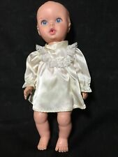 "Vintage 1972 Gerber 10"" Baby Doll Drink and Wet in Diaper"