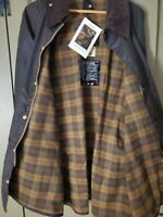 Vintage Barbour Beaufort A 190 Waxed Cotton Jacket NWT