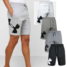 Mens Under Armour Fleece Logo Shorts Hand Pockets Activewear Bottom NEW